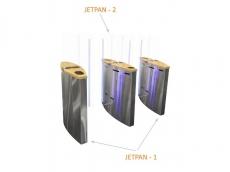фото JETPAN-2 Турникет FREEWAY со стеклянными лопастями