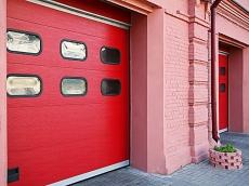 фото Alutech PROPLUS Ворота промышленные секционные с торсионным механизмом