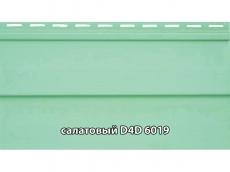 """фото Сайдинг облицовочный, панель D4D """"Slovinyl Siding"""", цвет салатовый RAL6019"""