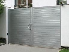 фото Doorhan Распашные въездные ворота
