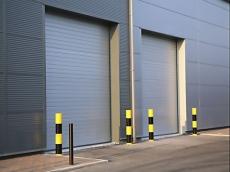 фото Doorhan ISD 01 Ворота промышленные секционные с торсионным механизмом