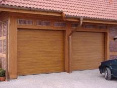 фото Doorhan RSD 01 Ворота гаражные секционные с пружинами растяжения