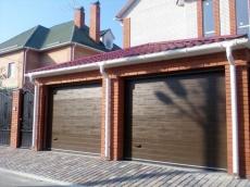 фото Doorhan RSD 02 Ворота гаражные секционные с торсионными пружинами
