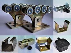 фото ROLLING HI-TECH 500М Комплект усиленной фурнитуры для откатных ворот, 500кг