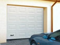фото Alutech TREND Ворота гаражные секционные с торсионными пружинами